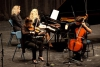 Jugend musiziert 2016 Bundeswettbewerb: Diana Kostadinova (Violine), Bobby Kostadinov (Violoncello) und Vreni Scheiter (Klavier)