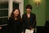Klassenkonzert Westphalsches Haus 15.1.2015, Jae Jun Park – Violine, Sunmi Lee – Klavier