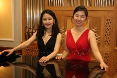 Konzert für 2 Klaviere, 28.11.2014 Minhee Kim/ Hyunju Rue