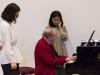 Meisterkurs mit Menahem Pressler 2013: Klavierduo Minhee Kim und Hyunju Rue-56