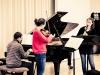 Meisterkurs mit Menahem Pressler 2013: Debora Dusdahl - Klarinette, Neasa Ni Bhriain - Viola, Paul Gertitschke-Klavier