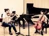 Meisterkurs mit Menahem Pressler 2013: Jiyoon Lee – Violine, Jeehyun Song – Violoncello, Juhee Jun - Klavier